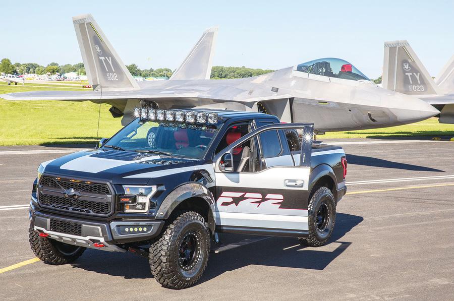 福特研發F-22戰鬥機特別版F-150猛禽