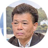 被指曾捲入貪腐案的佳兆業主席郭英成現身業績會。