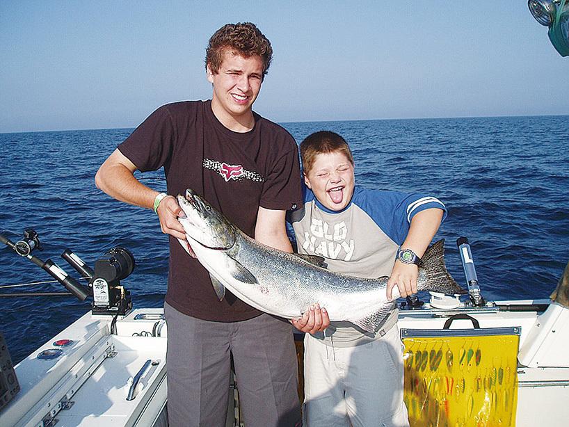 奧斯威戈縣以釣魚和捕獵聞名。(大紀元)