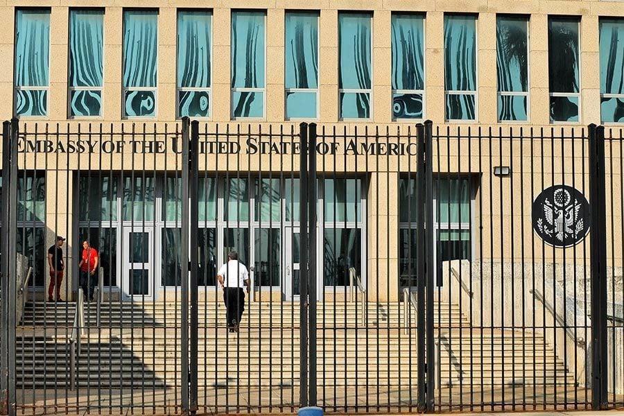 美計劃大批撤回駐古巴使館人員