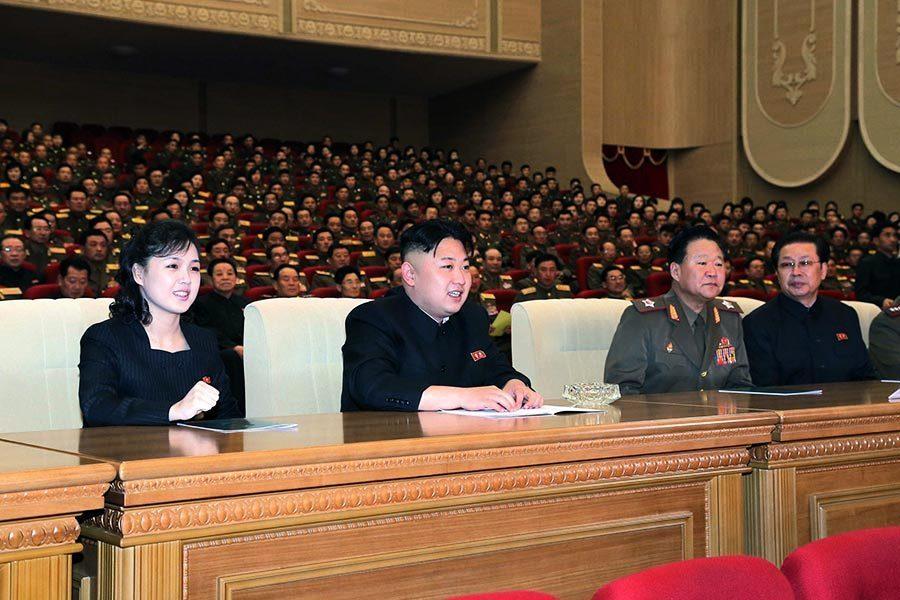 金正恩家庭與北韓一樣神秘而又東遮西掩