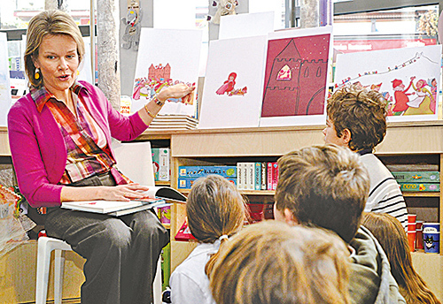 從小培養孩子閱讀的習慣,會讓孩子一生受用無窮。(AFP)