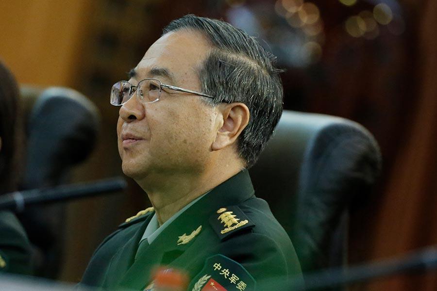 路透社9月4日援引三名熟悉情況的消息人士的話說,房峰輝正在接受貪污調查。(THOMAS PETER/AFP/Getty Images)