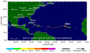 「哈維」肆虐甫平歇 颶風艾瑪恐再襲美國