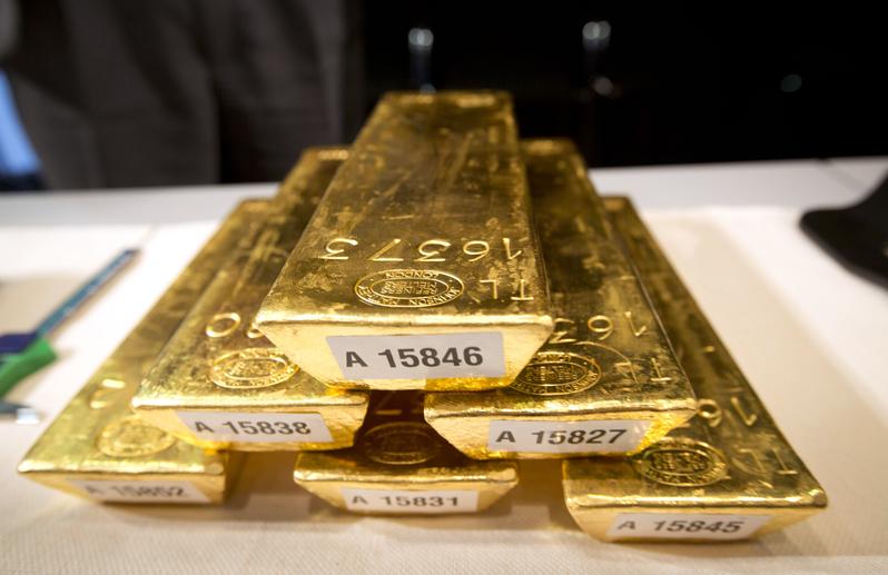 德國終於提前三年把一半以上的黃金運回了國。(PHOTO / FRANK RAMPENHORST GERMANY)