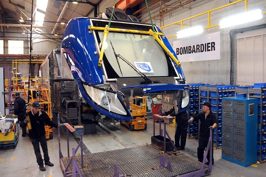 中國中車「拉郎配」,競標紐約大都會捷運署地鐵列車項目,受合作方加拿大龐巴迪拖累,被爆提前出局,從大熱門變大冷門。(FRANCOIS LO PRESTI/AFP/Gettys Images)