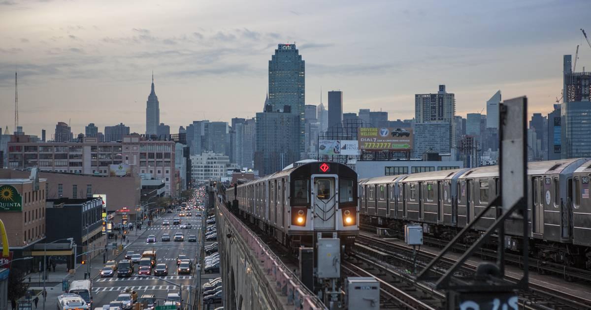 紐約市地鐵系統已有一百多年的歷史。圖為紐約7號線,它是連接曼哈頓與皇后區的重要地鐵線路之一。(紐約市政府網站)