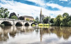 意外「撞進」英國的花城古鎮 ——舒茲伯利Shrewsbury