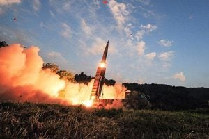 軍事打擊北韓? 特朗普:我們拭目以待