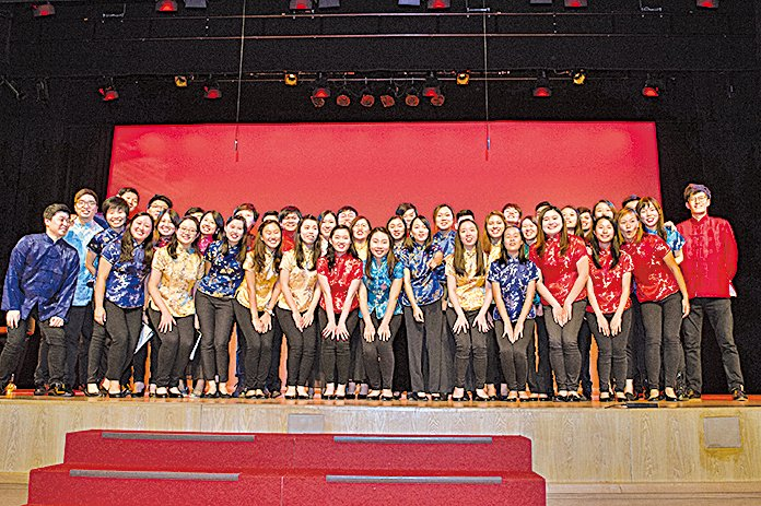 Ponte Singers 2017「聲•華」中國詩詞合唱音樂會團員合照。