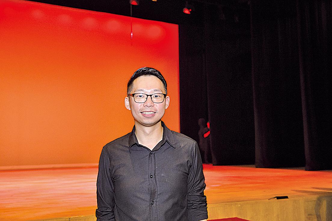 Ponte Singers 「聲•華」中國詩詞合唱音樂會指揮林屴汧先生。