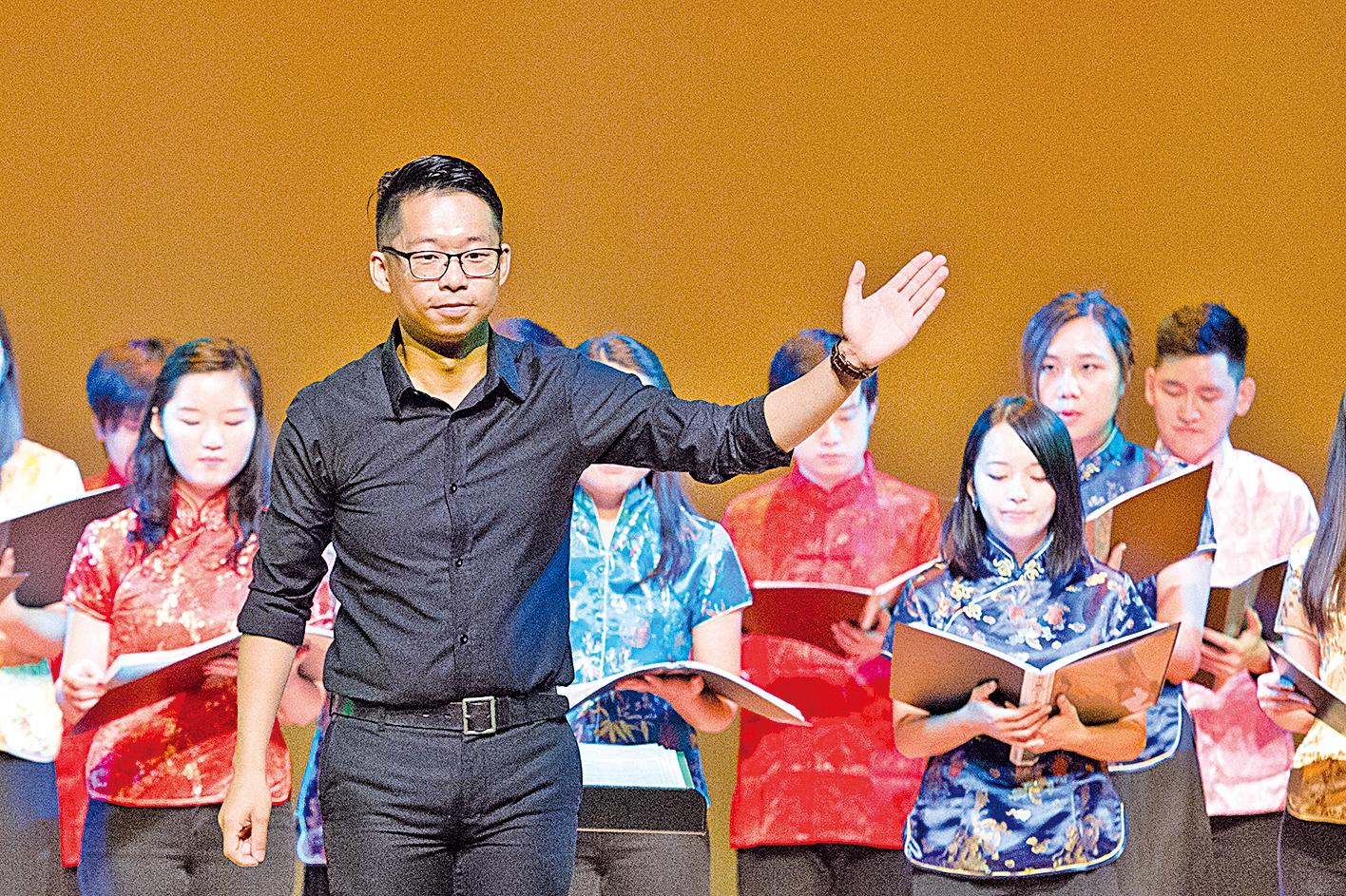 Ponte Singers 2017「聲•華」中國詩詞合唱音樂會現場。