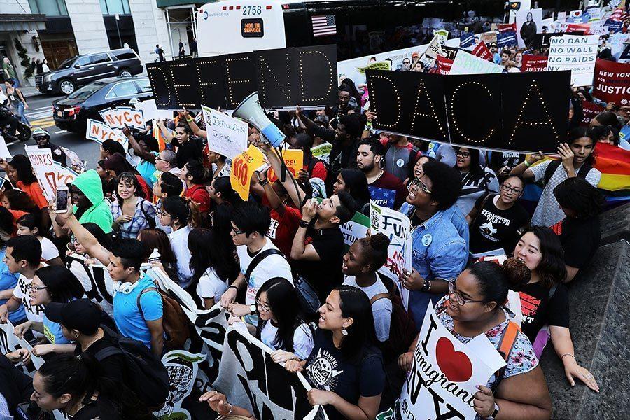 特朗普或推遲終止DACA計劃 交由國會決定