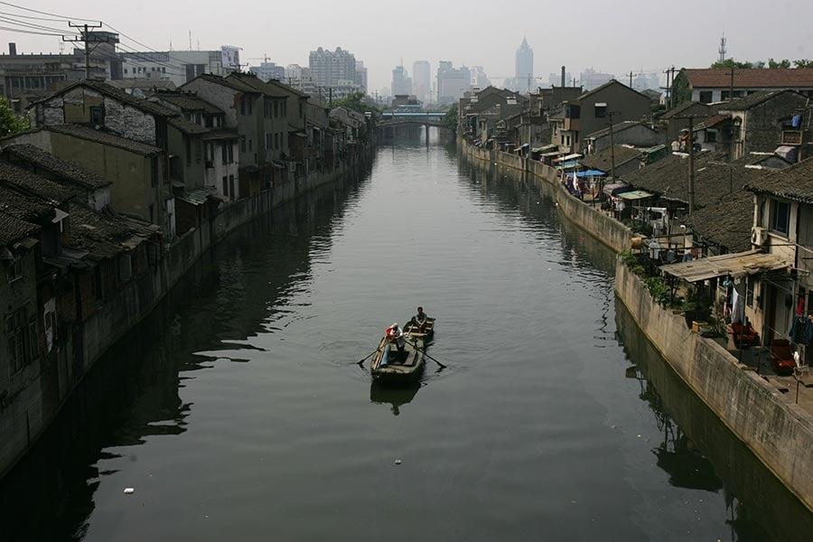 據胡潤報告顯示,中國江蘇省無錫市的房價指數在過去一年上漲了22.9%,位居全國第一名、全球三甲之內。(China Photos/Getty Images)