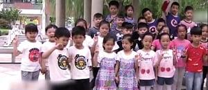 【圖片新聞】南通一學校迎17對雙胞胎新生 萌翻校園