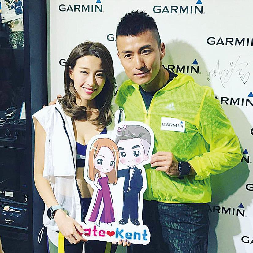 陳山聰(右)在《同盟》劇中與姚子羚飾演情侶,甚有默契。(陳山聰facebook)