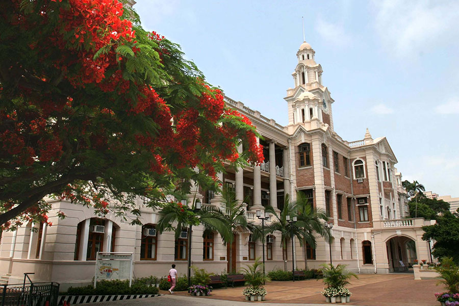 香港大學連升三名,位列全球大學第40名。(香港大學)