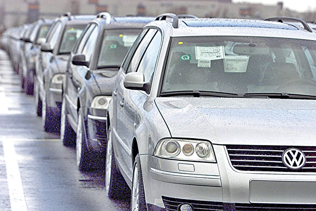 通報稱,本次召回涉及邁騰、帕薩特和大眾CC三個品牌,共計180萬輛汽車。(Getty Images)
