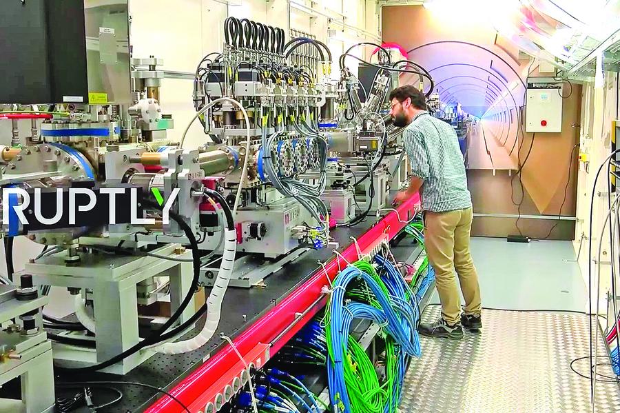 世界最大X光機將為原子拍照
