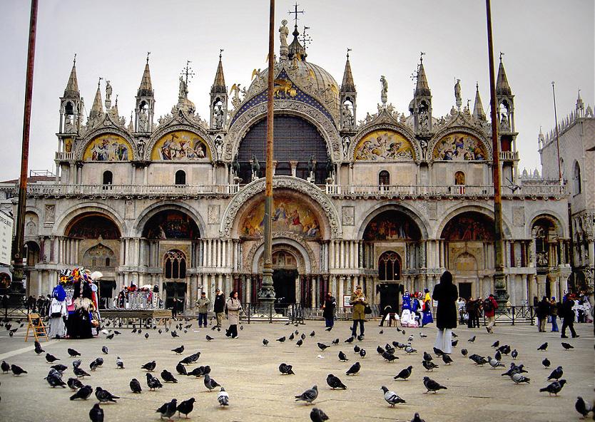 聖馬可大教堂。(維基百科)