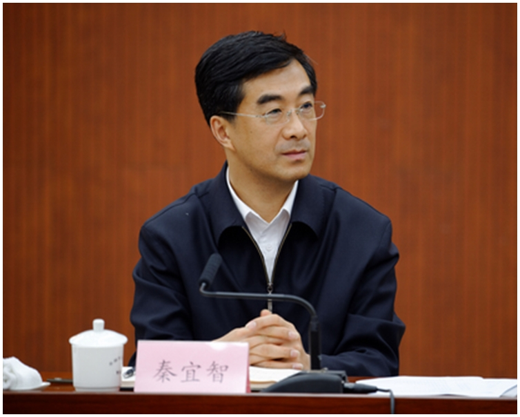 有傳媒報道稱中共團中央第一書記秦宜智被降級,將到國務院下屬機構任副職。(網絡圖片)