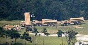 應對北韓威脅 南韓緊急部署四輛薩德發射車