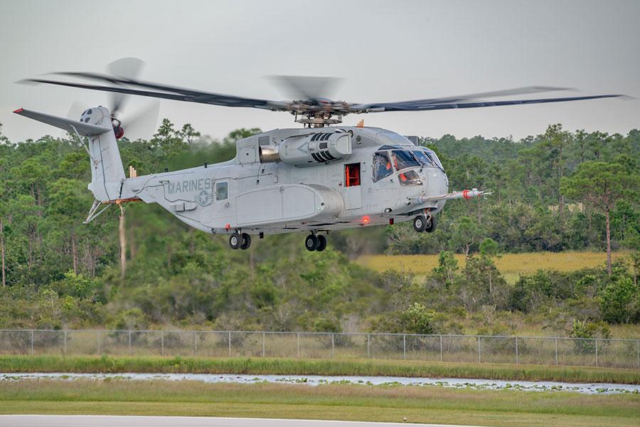 CH-53K於2015年10月完成首次試飛。(US NAVY)