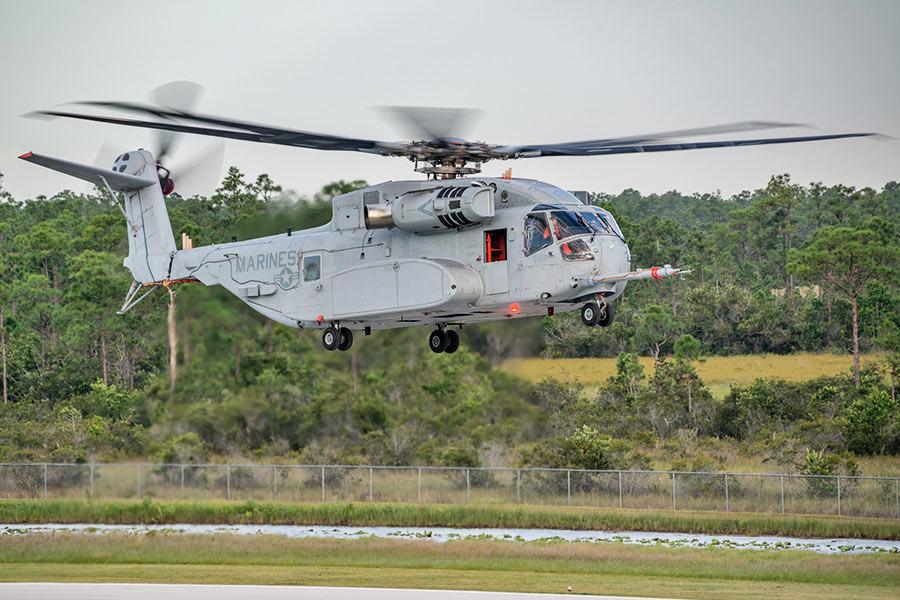 美軍最大重型直升機CH-53K 將裝備陸戰隊