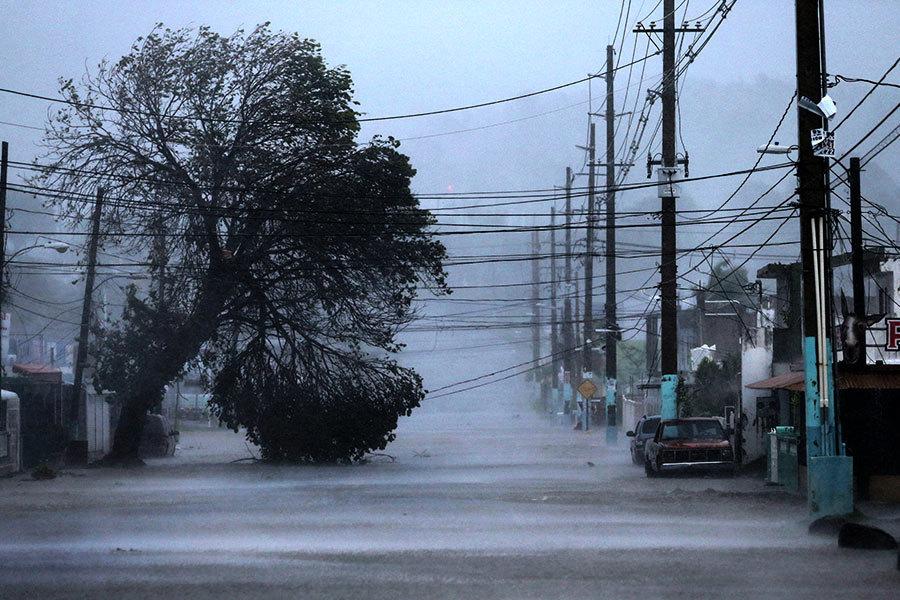 颶風艾瑪橫掃加勒比 加航派機接滯留遊客