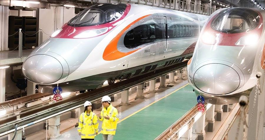 本港高鐵列車主樑架構的鋁材亦同樣由神戶製鋼製造,引起安全疑慮。(港鐵)