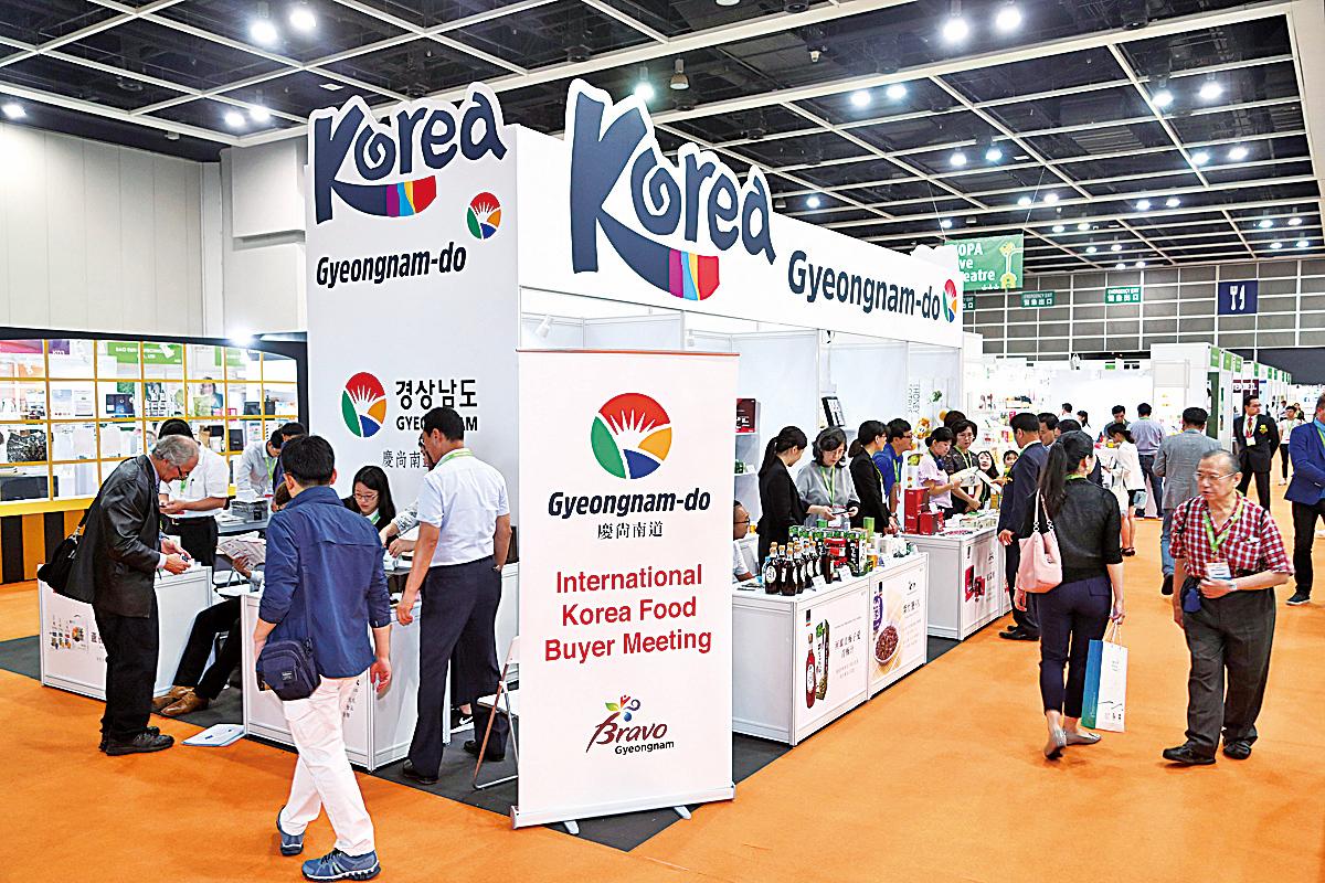 韓國館是這次活動最大亮點之一。