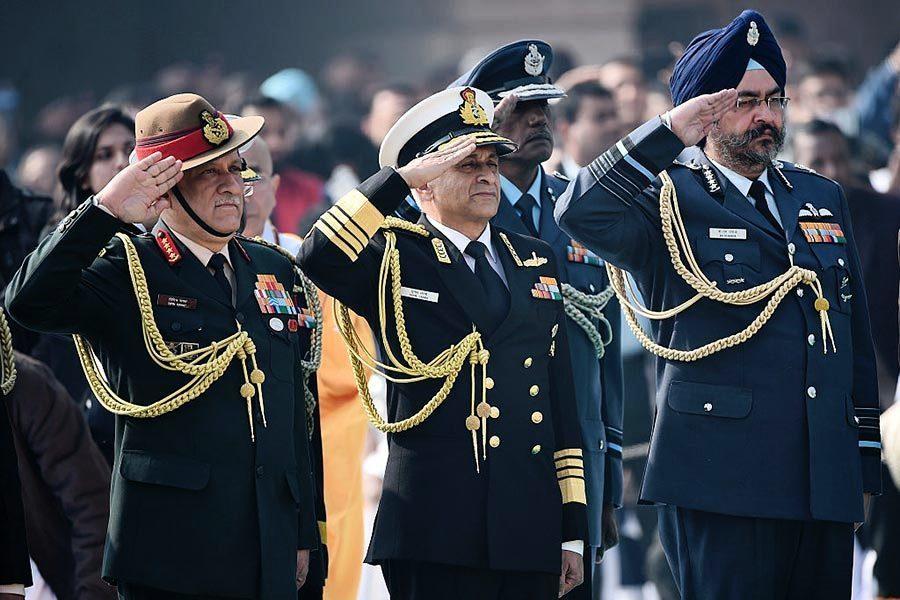 印陸軍參謀長:印度應準備好打兩線戰爭