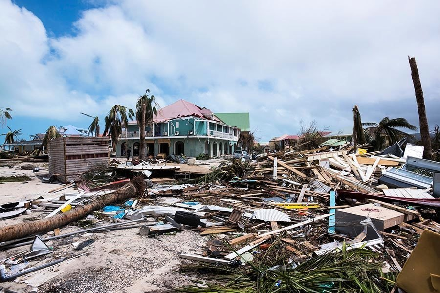 颶風艾爾瑪重創加勒比海 打破多項氣象紀錄
