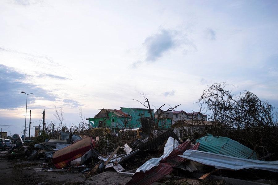 颶風艾爾瑪重創加勒比法屬領土