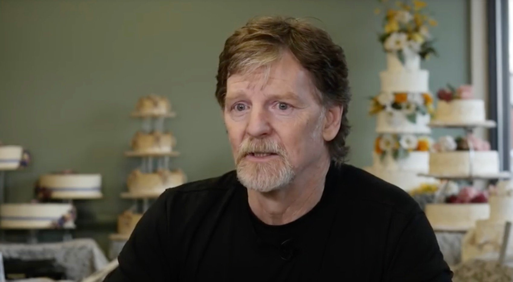 科羅拉多州糕點師傅菲力普斯(Jack Phillips)。(YouTube視像擷圖)