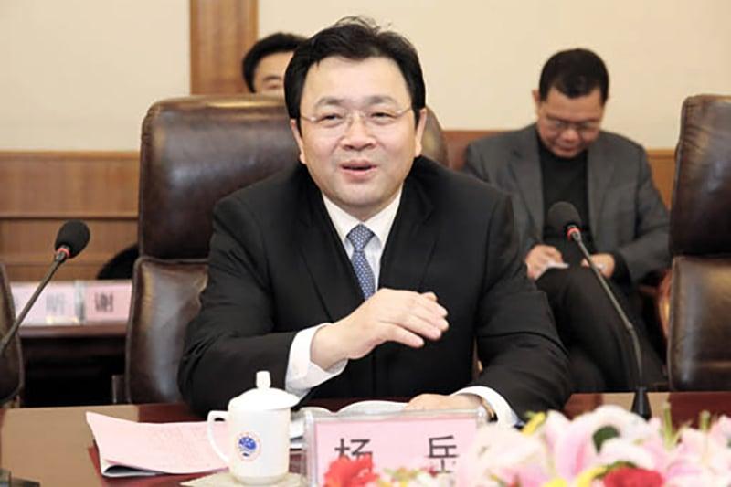 團派大員、中共江蘇省委常委、副省長楊岳也提前出局中共十九大。(網路圖片)