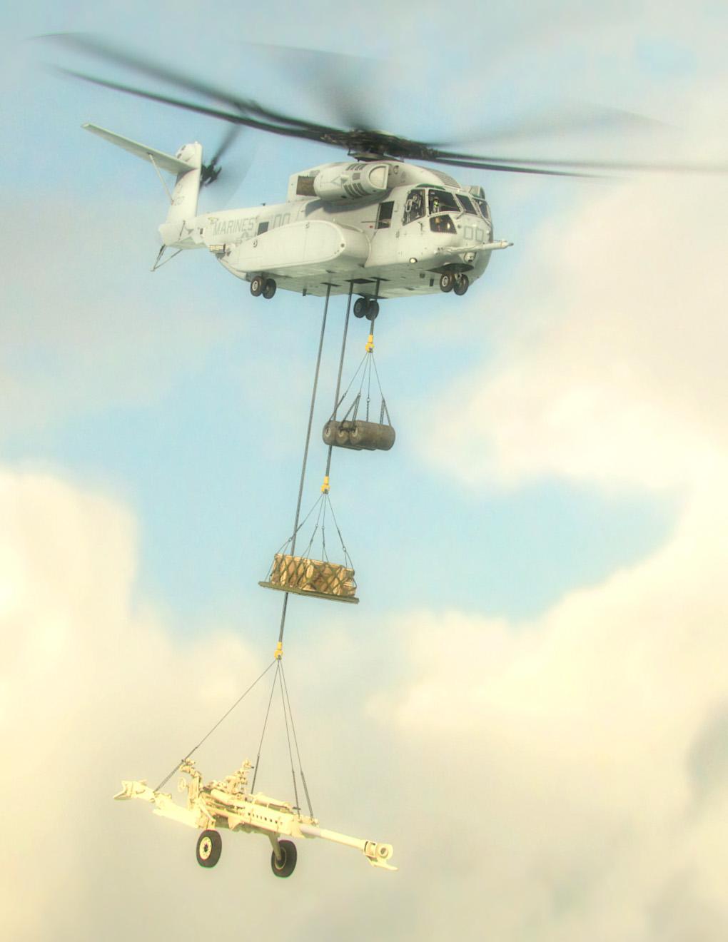 403/CH-53K增加繩索外掛性能。(NAVY/Sikorsky)