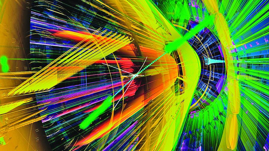 研究:奇妙光子像皮球一樣碰撞