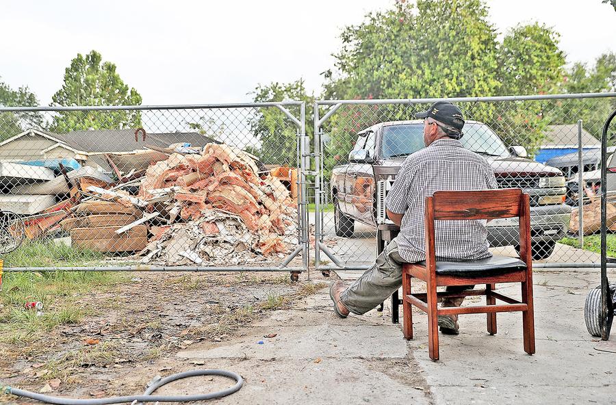 哈維颶風重創經濟 侯斯頓居民感受深