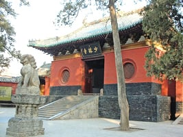 少林古寺 寺院初立 達摩西來