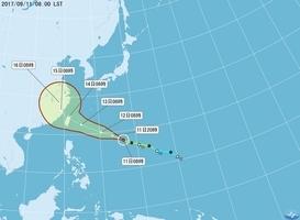 風暴泰利持續增強 台最快明日海陸警齊發