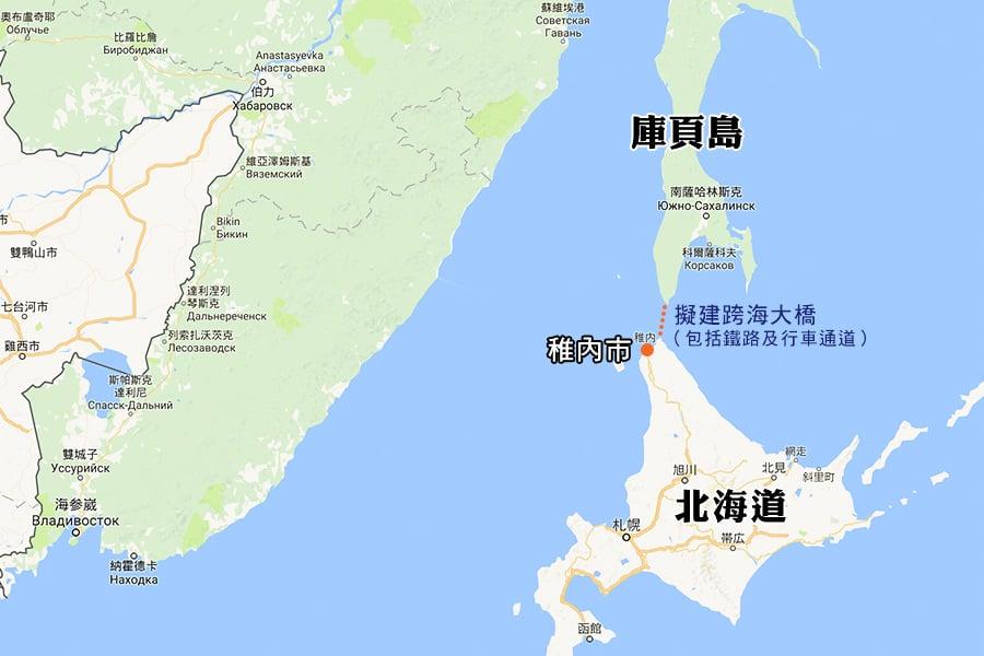 俄擬與日共建跨海鐵路 可從東京直達倫敦