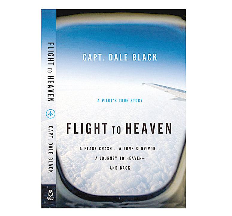 布萊克的書《飛往天堂的航班——一個飛行員的真實故事》(Flight to Heaven——a Pilot's True Story),記錄自己的瀕死經驗。(網絡圖片)