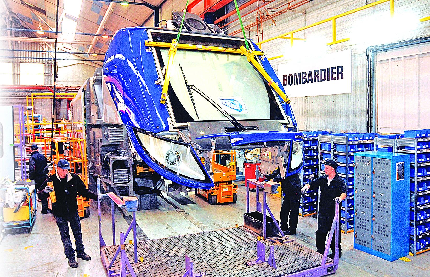 中國中車「拉郎配」,競標紐約大都會捷運署地鐵列車項目,受合作方加拿大龐巴迪拖累,被曝提前出局,從大熱門變大冷門。(Gettys Images)