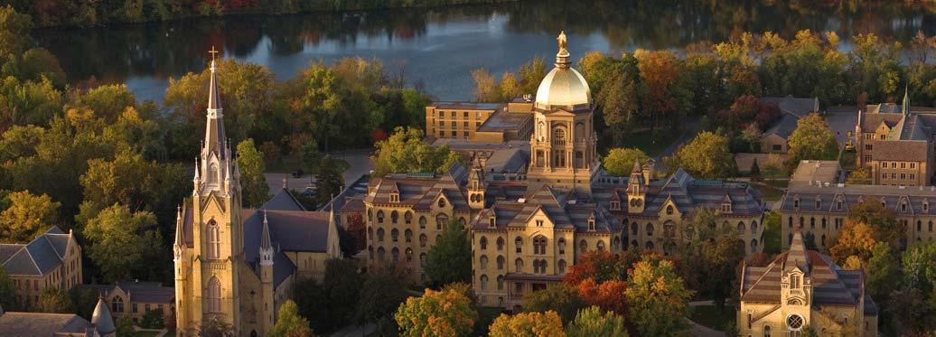 聖母大學。(聖母大學)