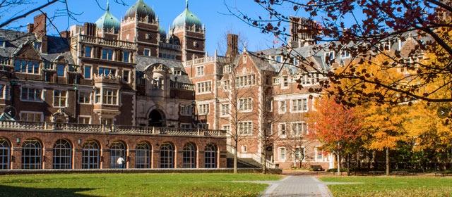 著名的長春籐大學賓夕凡尼亞大學座落在古都費城。(賓夕凡尼亞大學)