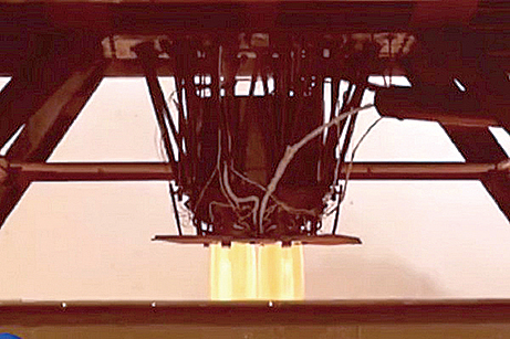 北韓宣佈日前進行新型洲際彈道火箭發動機的地上點火試驗(視頻截圖)