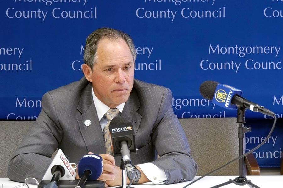 蒙郡議會主席波林納(Roger Berliner)在周一的記者會上表示,蒙郡做好了準備參與競標。(新唐人電視台)