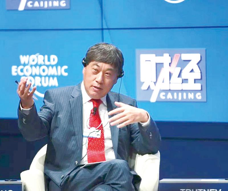 《財經》社長王波明涉倒習信被抓