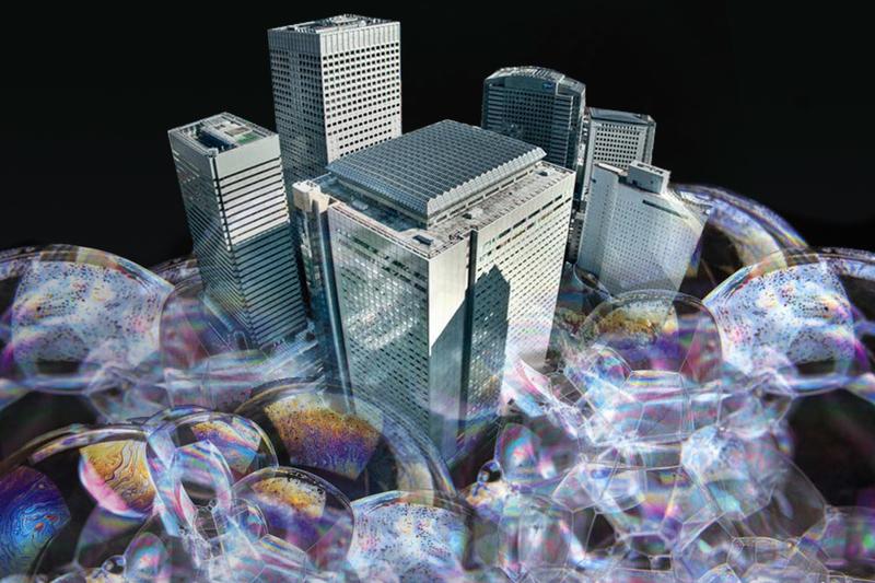 長沙當局的樓市政策推升當地樓市。(大紀元合成圖)